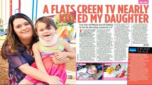 A Flat Screen TV Nearly Killed My Daughter